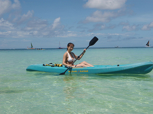 Kayaking courtesy of Scuba World