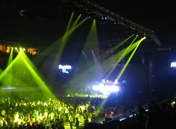 David Guetta in Manila: Lights Show