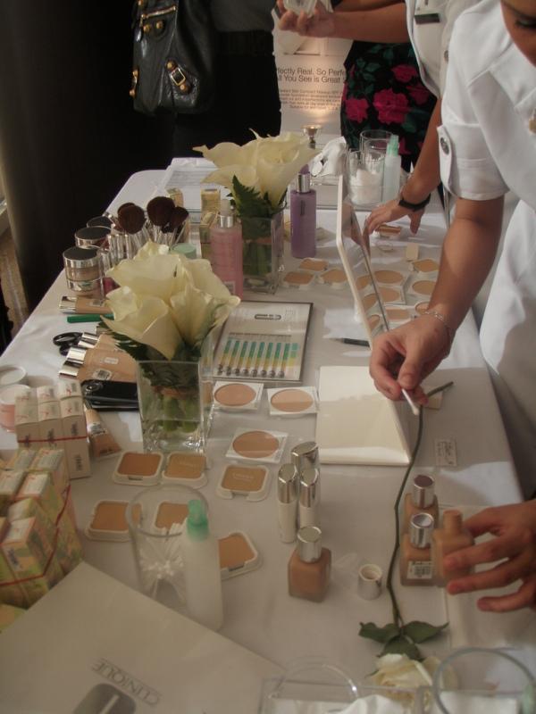 Clinique Perfect Match event: Makeup!