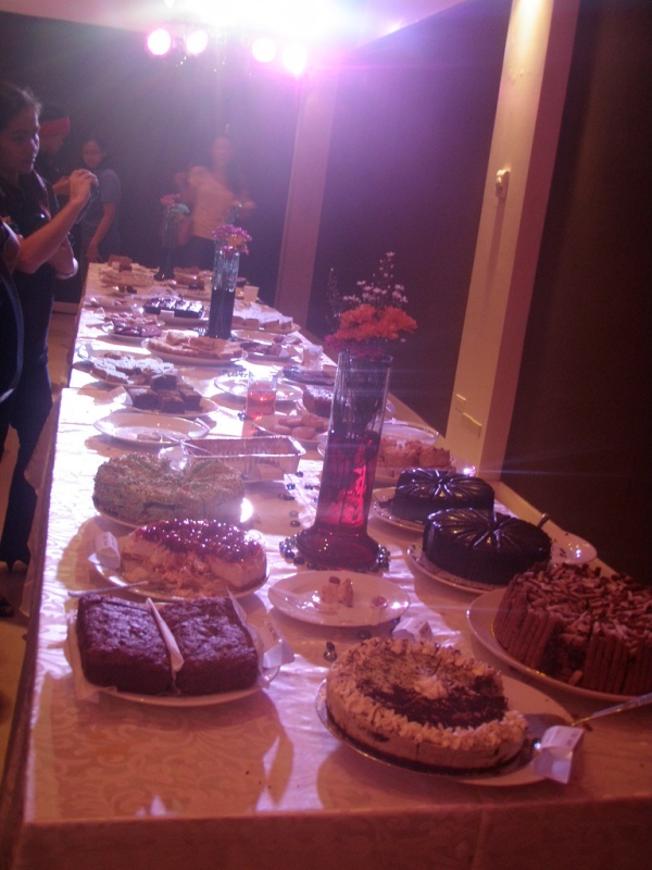 Parvati Dessert Soiree: the spread