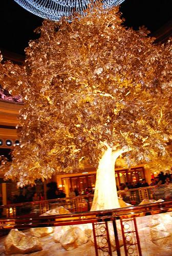 Macau Day One: Prosperity Tree at the Wynn