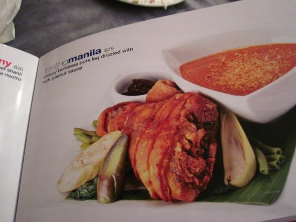 Oceana Anniversary: Tasting Manila