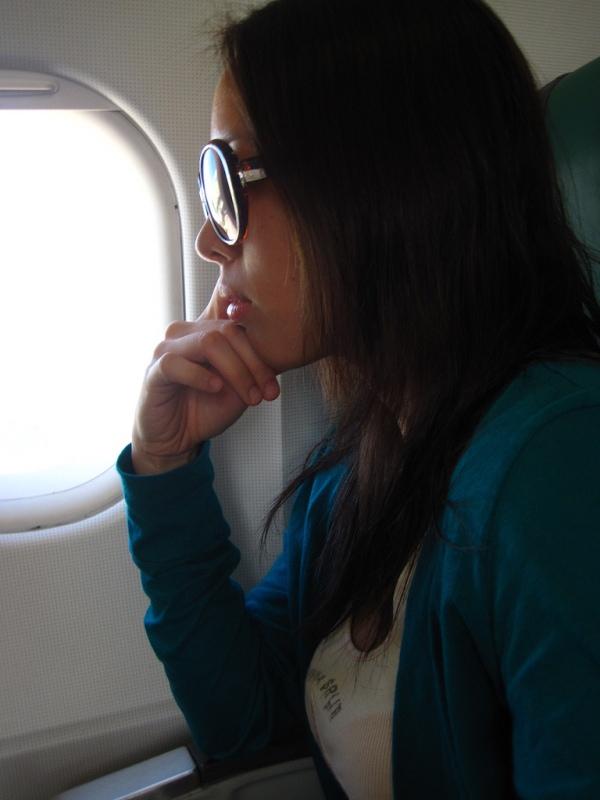 Trippin' to Bohol: Flying