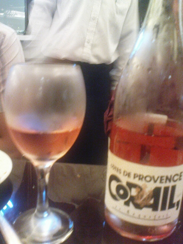 Rosé wine from Provence
