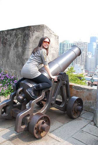 Macau Day Two: Riding the Cannon