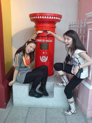Macau Day Two: Mailbox