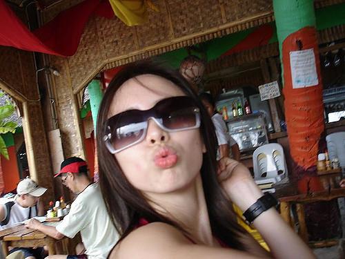 Boracay May 27, 2007: Mwah!