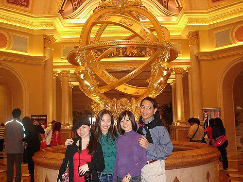 Macau Day One: Model of the Universe at the Venetian