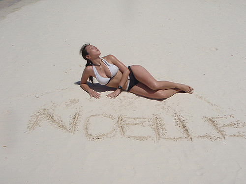 Noelle on the Beach