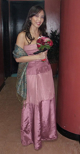 Pink Gown, Jerdy's Wedding, 2009
