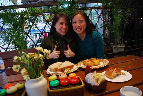 Disneyland Day: Breakfast in Macau at Cafe e Nata