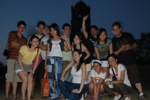 Vigan: Belltower at Night