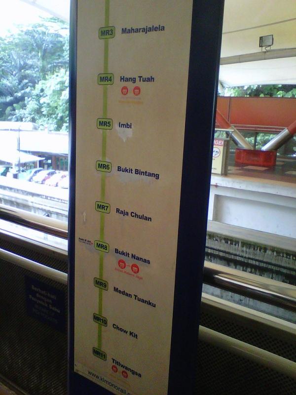 Malaysia: Monorail