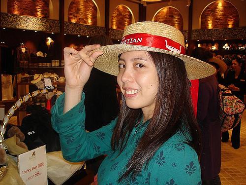 Macau Day One: Wannabe Gondolier