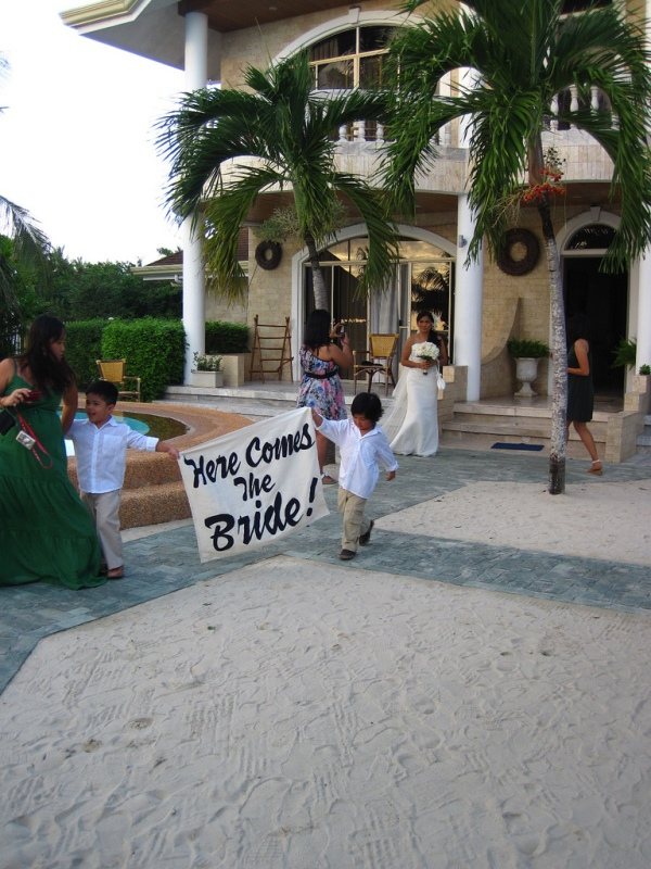 Trippin' to Bohol: Here Comes the Bride